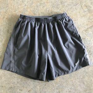 "Nike running 5"" lined Dri Fit Shorts"